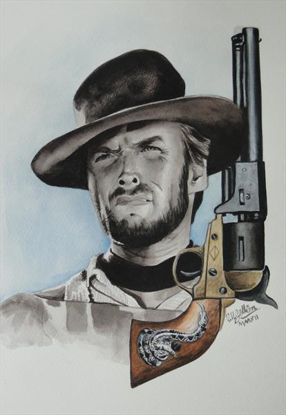 Man with no name (Clint) by Robert Gellion