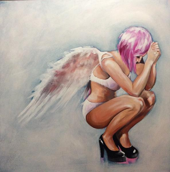 Heels and wings. by sharon coles