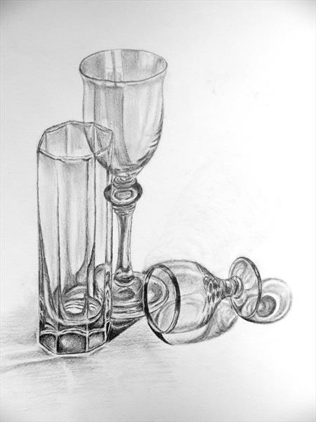 Empty Glasses by Elisabeth Grosse