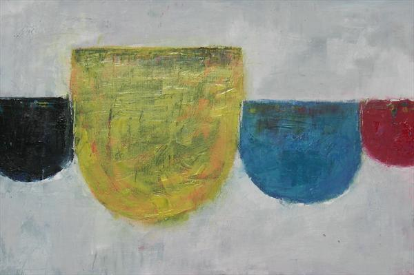 Half Cups by Angela Dierks