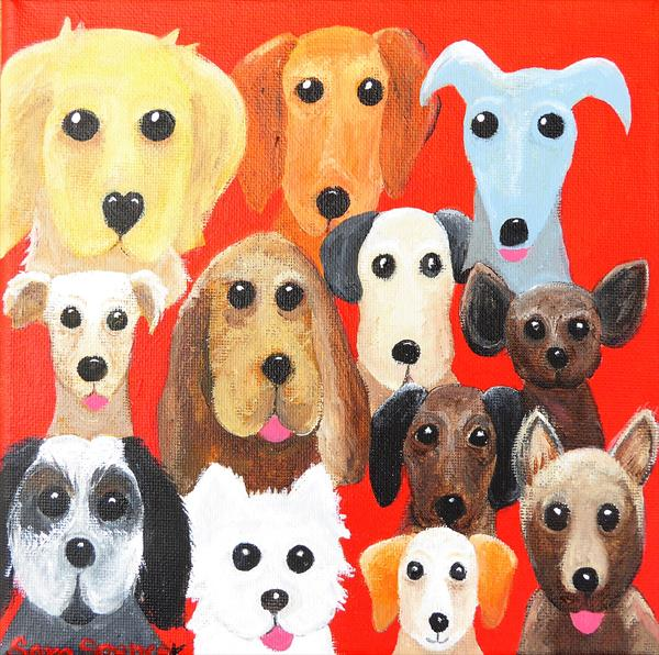 Who Let The Dogs Out by Sara Spencer