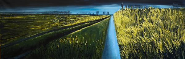 Some other perspective of the Fields - Fields and Colors Series by Danijela  Dan