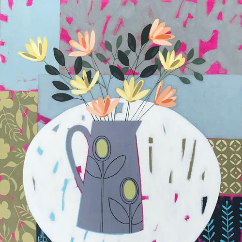 Flowers On My Table by Emma Dashwood