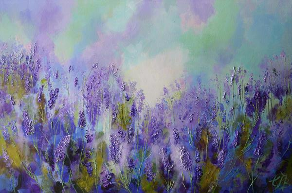 Memory of Lavender no2 by Colette Baumback