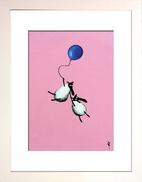 Holding On To Ewe Limited Edition Print by Mervyn Tay