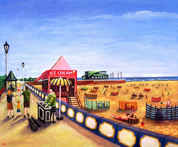 St Annes On Sea by Ronald Haber