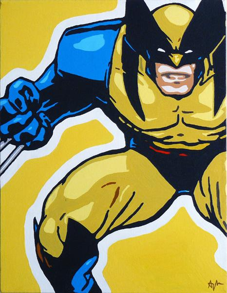 Wolverine (Superhero Series) by Adam Mackay