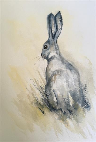 Little Hare by Tina Hiles