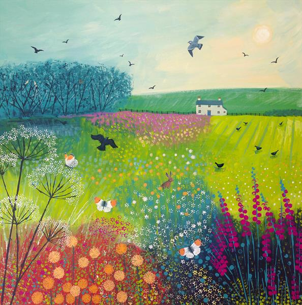 Midsummer Meadow by Josephine Grundy