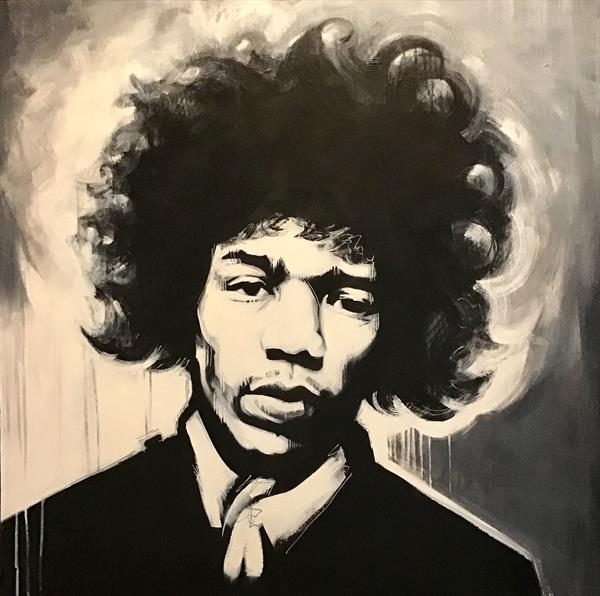 Hendrix by sharon coles