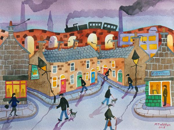 The Stockport Train by Martin Whittam