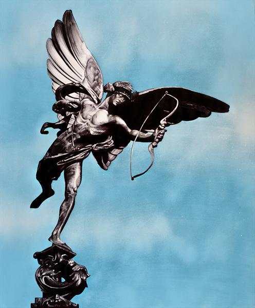 Eros, Piccadilly Circus by Dean Waite