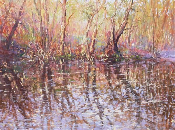 Octavia Hill Reflections (On Display At Art Gallery, Tetbury) by Mariusz Kaldowski