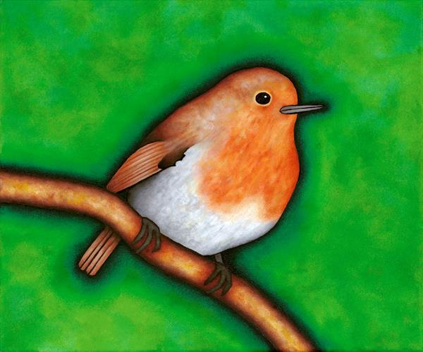 Robin by Michael O'gorman