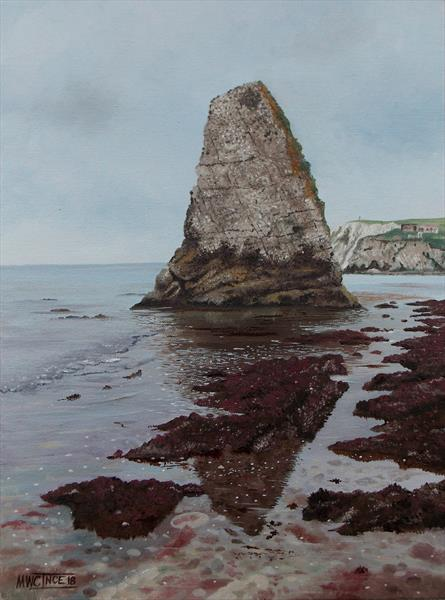 Stag Rock, Freshwater Bay by Murray Ince