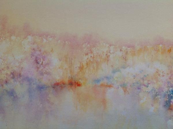 Heathland Pool by Claire Mawer