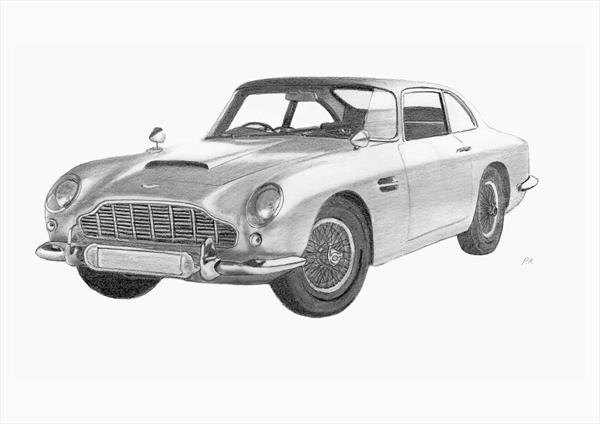 Aston Martin DB5 by Philip Kendrew