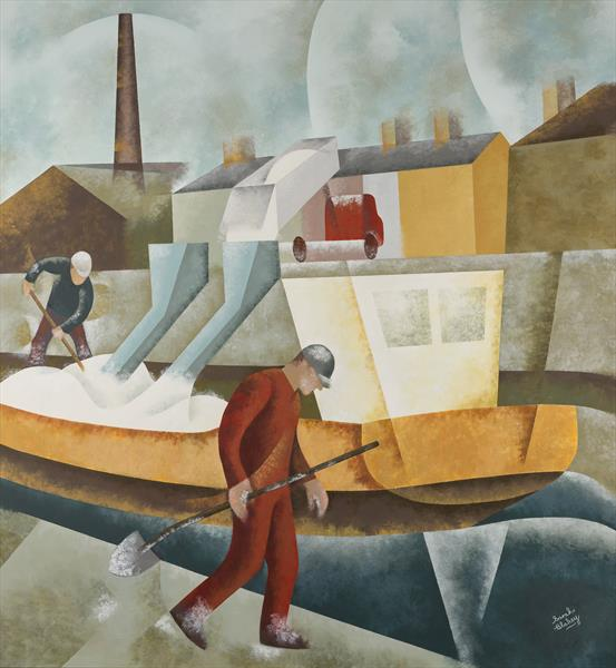 Loading China Clay, Charlestown by Sarah Blakey