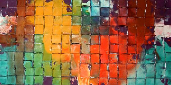 *SALE* Rainbow Mosaic