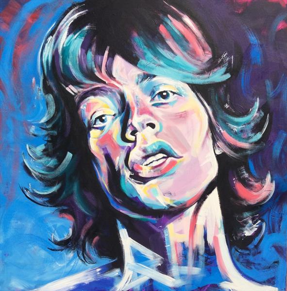 mick jagger by sharon coles