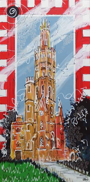 Hadlow Tower by Laura Hol