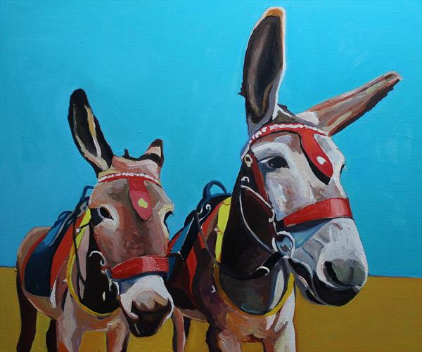Donkey & Son by Emma Cownie