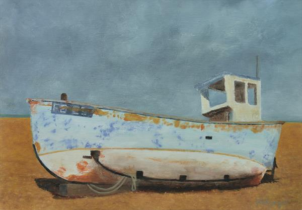 Rhapsody in Blue and Rust by Mick Sargent