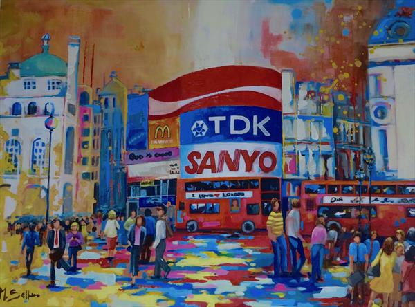 Vivid Piccadilly  by Marilene Salles