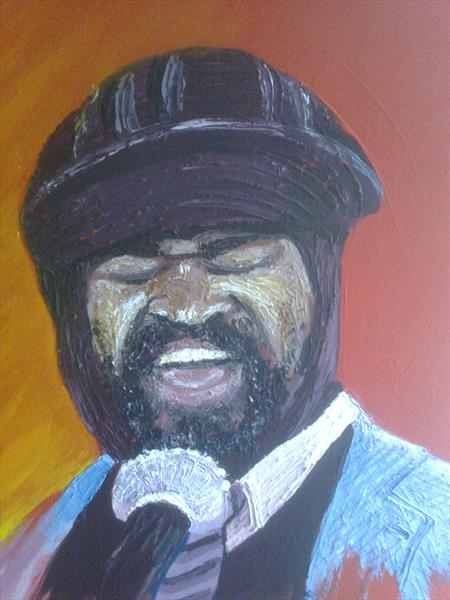 Gregory Porter by Colin Able