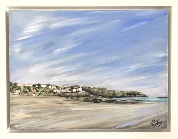 Looking Across at Langland Bay by Rebecca Jory