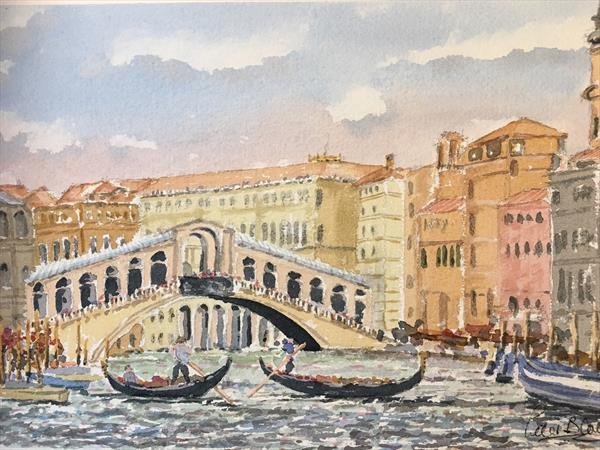 Rialto Bridge by Peter Blake