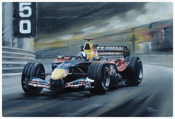 David Coulthard 2006 Monaco F1 Monaco by Roderick Verity