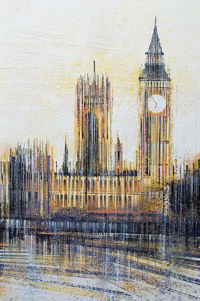 London. Big Ben And The Houses Of Parliament by Marc Todd
