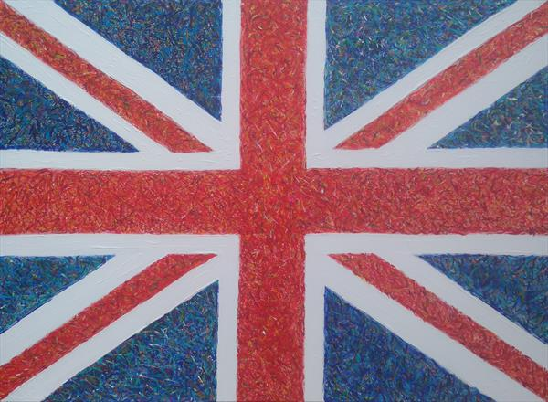 Union Jack #2 by Gary Hogben