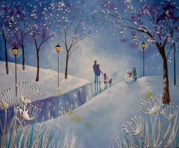 Winter memories by Angie Livingstone