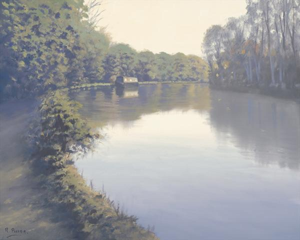 Thames Between Sonning & Reading by Richard Picton