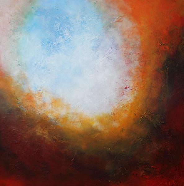 abstract painting straight out of my studio in Manchester / Saga N26