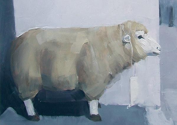 Another Otley Sheep Reserved for J.I. by John Byrne