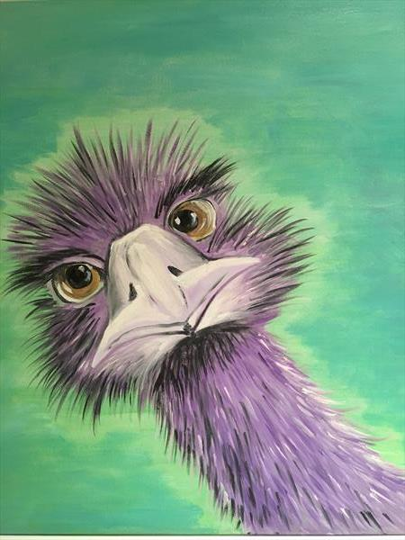 Pop up Emu by KIM WILFORD