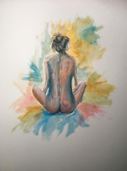 Nude-'Patience ' by Damion  Maxwell