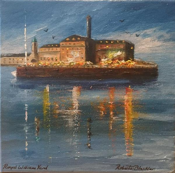 Royal William Yard, Plymouth. by Roberta Blackler