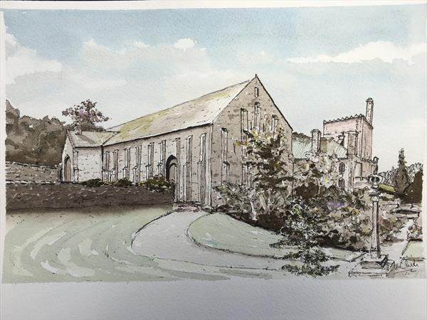 Bucklands Great Barn by Peter Blake