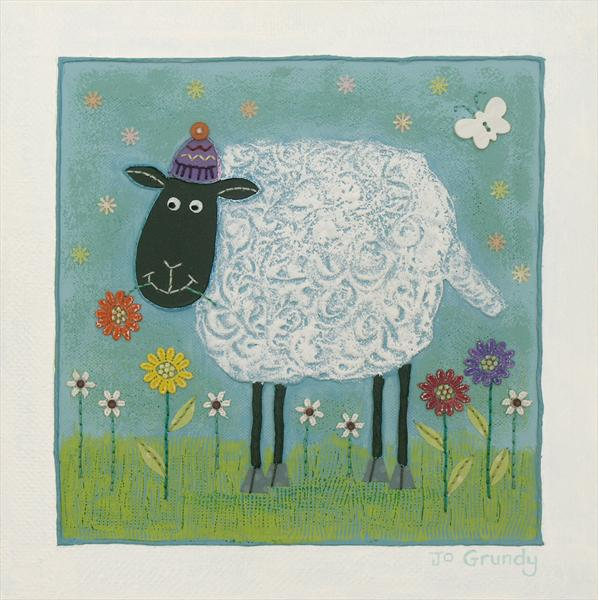 Woolly Sheep by Josephine Grundy