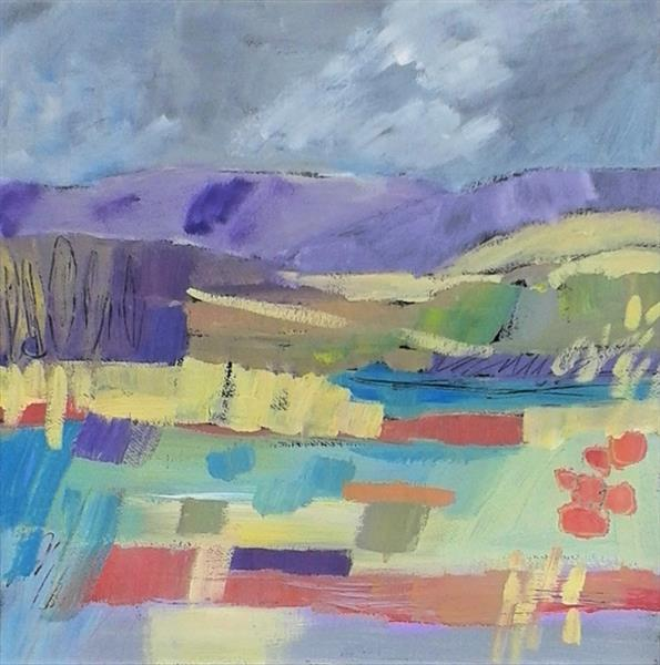 Abstract Landscape VI by Jan Rippingham