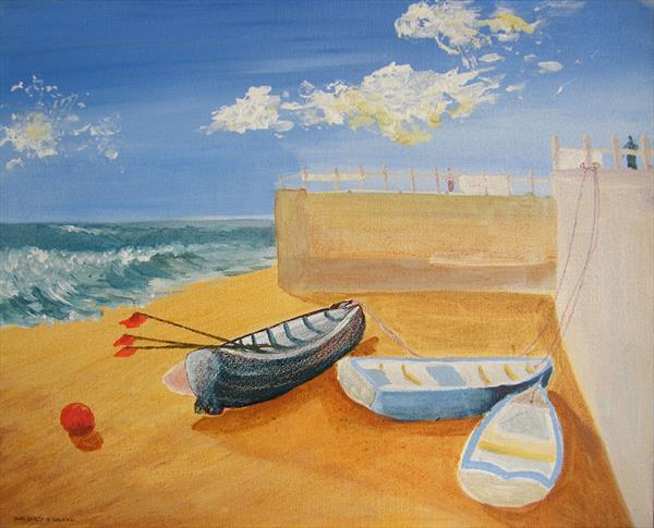 Boats at Rest by Susan Hill