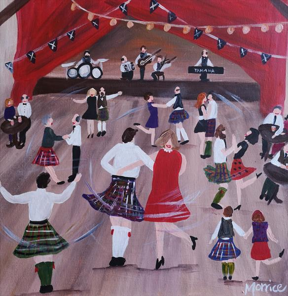 I'd rather be at a ceilidh  by cheryl Morrice