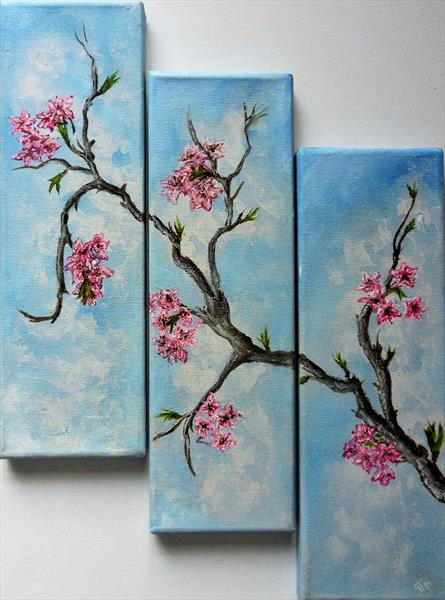 Spring Blossoms by Joanne Tharby-Hammond