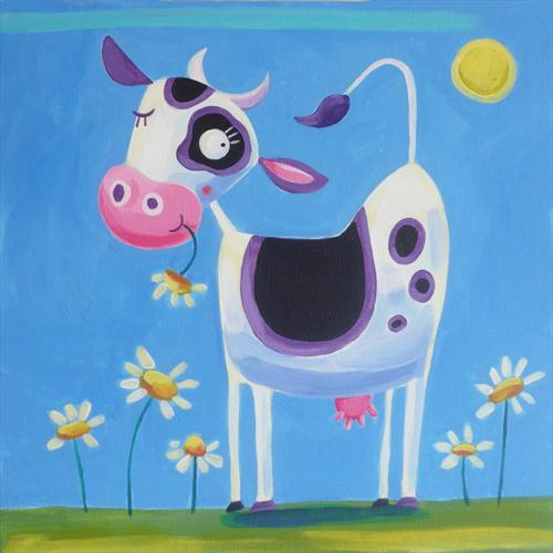 Happy Cow by Emily Skinner