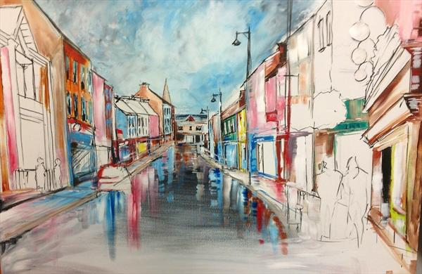 Arklow - Main Street by David Ivory
