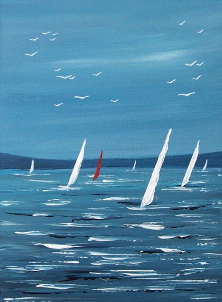 Summer Sail Boats